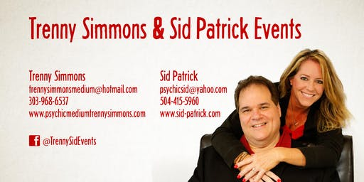 A Night of Crossing Over with Mediums Trenny Simmons and Sid Patrick