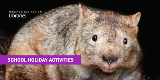 Wombat Encounters (all ages) - Bribie Island Library