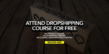 Fully Sponsored Online DropShipping Business Course LIVE in Penang tickets