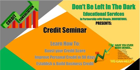 Credit Seminar tickets