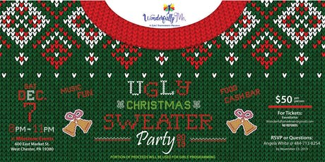 Ugly Christmas Sweater Party Fundraiser tickets