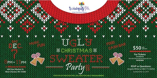 Ugly Christmas Sweater Party Fundraiser