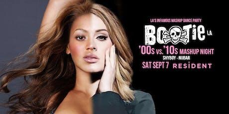 Bootie LA: '00s vs. '10s Mashup Night tickets