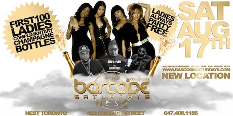 Nest Saturdays FREE CHAMPAGNE PARTY tickets