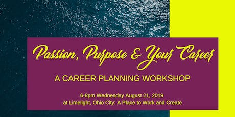 Passion, Purpose & your Career tickets