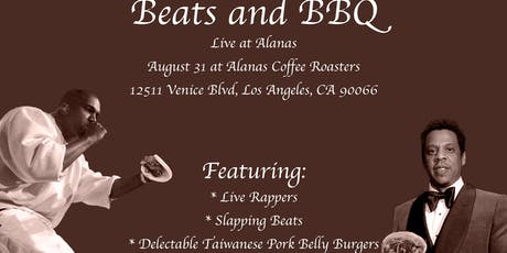 Beats and BBQ 3 tickets