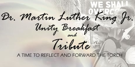 19th Annual Dr. Martin Luther King Jr. Unity Breakfast and Tribute tickets