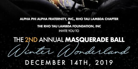 The 2nd Annual Masquerade Ball: Winter Wonderland tickets