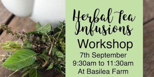 Herbal Tea Infusions Workshop