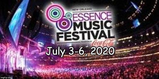 Essence Musical Festival 2020 - Hotel Only