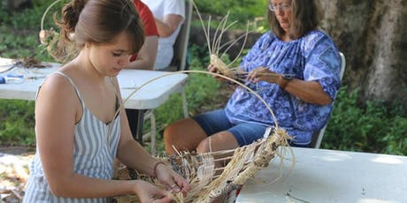 Rustic Basket Making Weaving Circle tickets