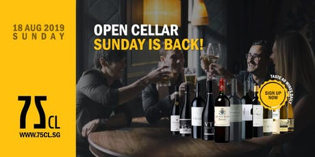 Open Cellar Sunday is Back! tickets