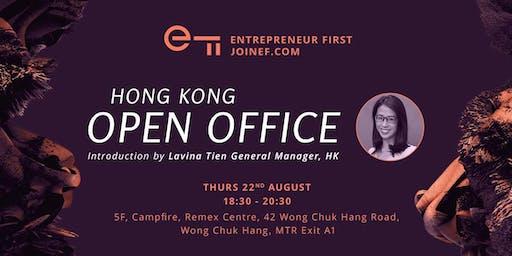 Entrepreneur First HK - August Open Office