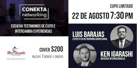 Conekta Networking boletos