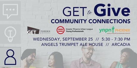 GET to Give: Community Connections tickets