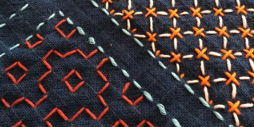 Advanced Sashiko Stitches Class in San Francisco