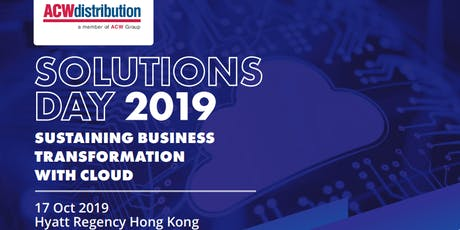 ACW Distribution Solutions Day - Hong Kong Series 2019 tickets