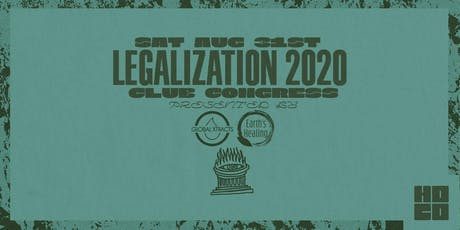 Legalization 2020 Panel tickets