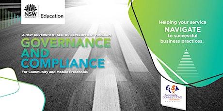 Governance and Compliance Presentation - Queanbeyan tickets