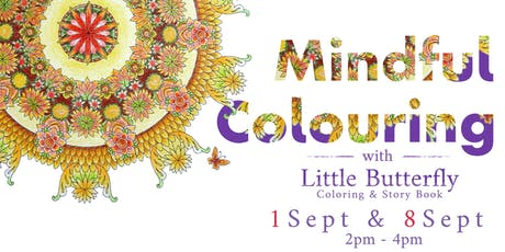 Mindful Colouring tickets
