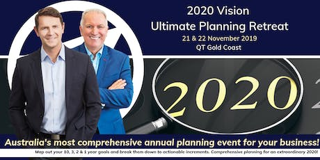 Abundance Global Presents: 2020 Vision 'Ultimate Planning Retreat' tickets