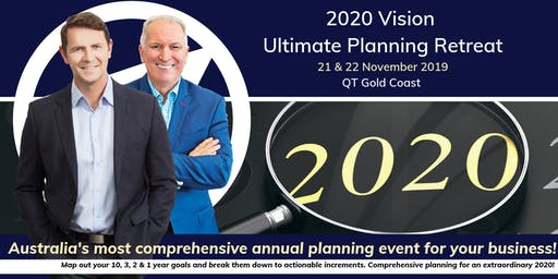 Abundance Global Presents: 2020 Vision 'Ultimate Planning Retreat'