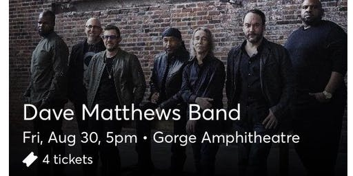 Dave Matthews Band at the Gorge