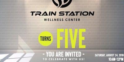 Train Station Turns 5!