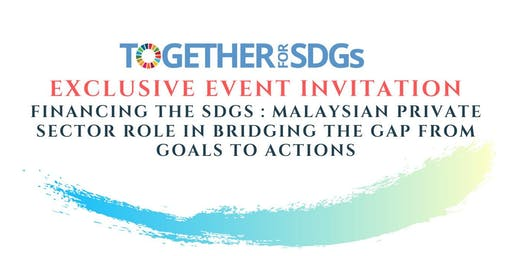 Financing the SDGs : Private Sector Role