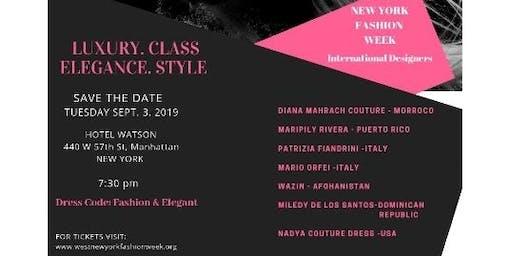 WEST  NEW YORK FASHION WEEK IN MANHATTAN