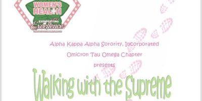 Walking With The Supreme • Alpha Kappa Alpha Sorority Inc. • ΟΤΩ
