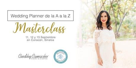 """Masterclass """"Wedding Planner de la A a la Z"""" en Culiacán entradas"""