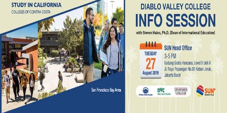 Diablo Valley College (DVC) Info Session With Steven Hales tickets