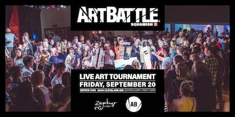 Art Battle Squamish - September 20, 2019 tickets