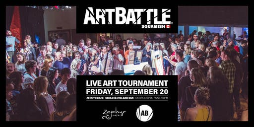 Art Battle Squamish - September 20, 2019