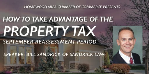 PROPERTY TAX: Taking Advantage of the September Reassessment Period