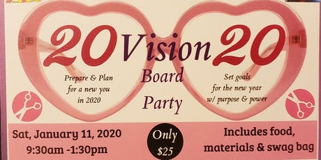 2020 VISION Board Party! tickets