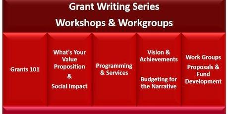 Grant Writing Workshop Series-Rescheduled tickets