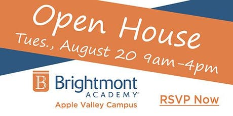 Brightmont Academy - Apple Valley Open House tickets
