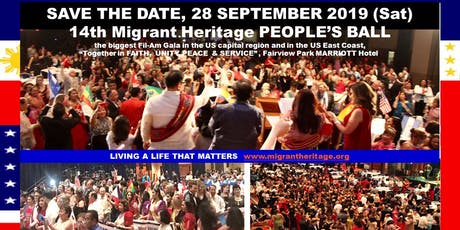 2019 Annual Migrant Heritage PEOPLE'S BALL tickets