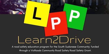 LEARN 2 DRIVE tickets