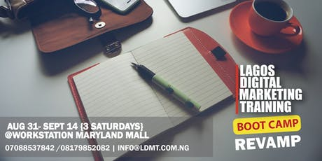 Lagos Digital Marketing Training- BootCamp tickets