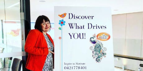 Discover what drives you! tickets