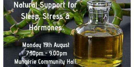 Natural Support for Sleep, Stress & Hormones