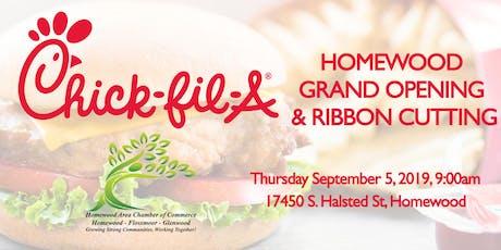 Chick-fil-A Homewood Grand Opening & Ribbon Cutting! tickets