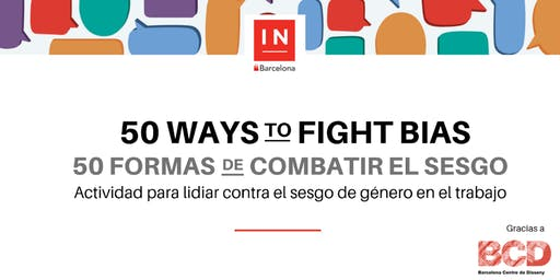 50 formas de combatir el sesgo
