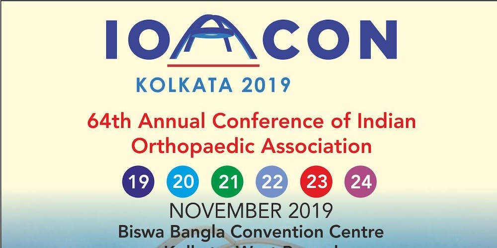 Indian Orthopaedic Association 64th Annual Conference 2019