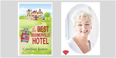 Meet the Author - Caroline James (Burscough) #authorvisit tickets