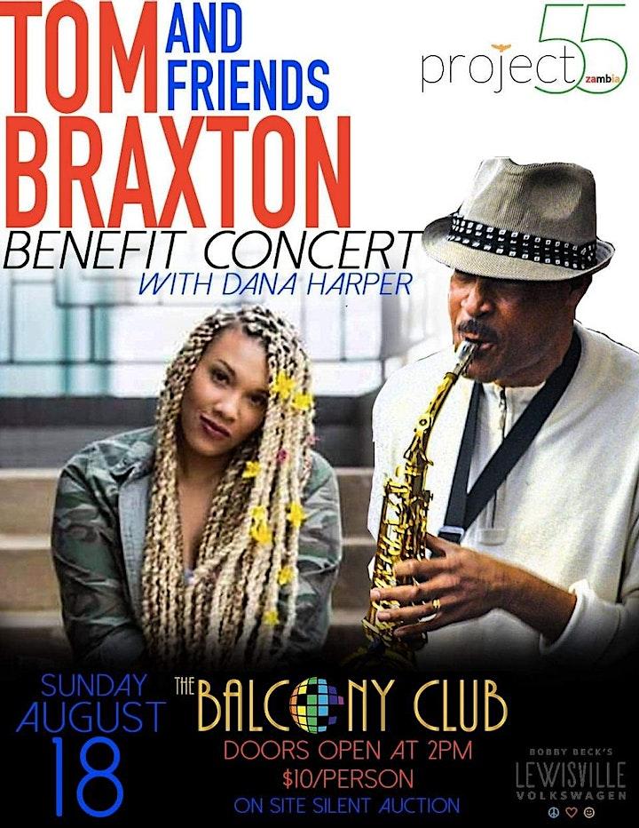 Tom Braxton & Friends Benefit Concert with Dana Harper image