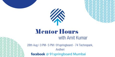 Mentor Hours with Amit Kumar tickets